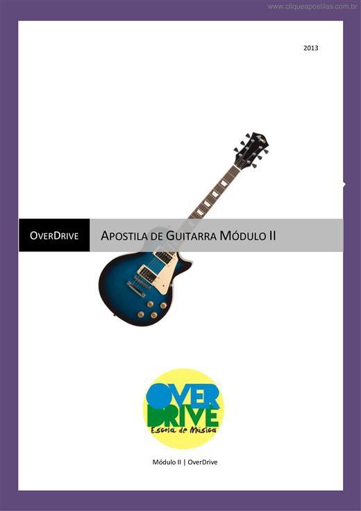 apostila de guitarra para iniciantes