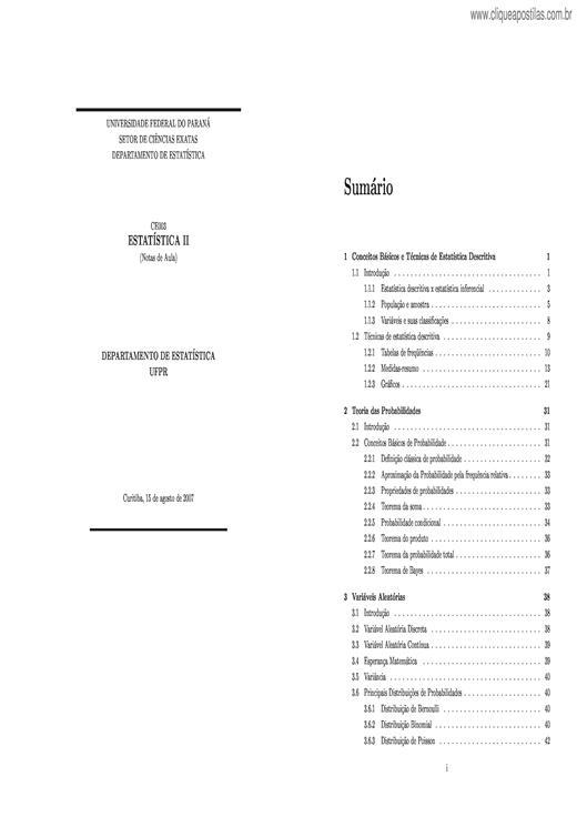 d59e92de1 Clique Apostilas - Apostilas de Estatística
