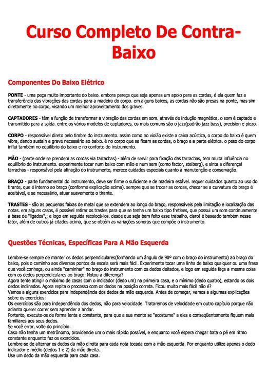 CONTRABAIXO APOSTILA BAIXAR DE