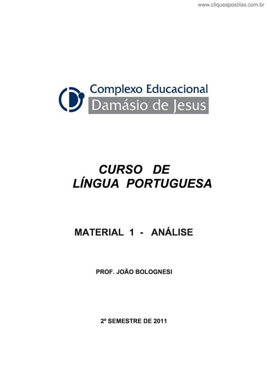 DAMASIO BAIXAR JESUS APOSTILAS DE