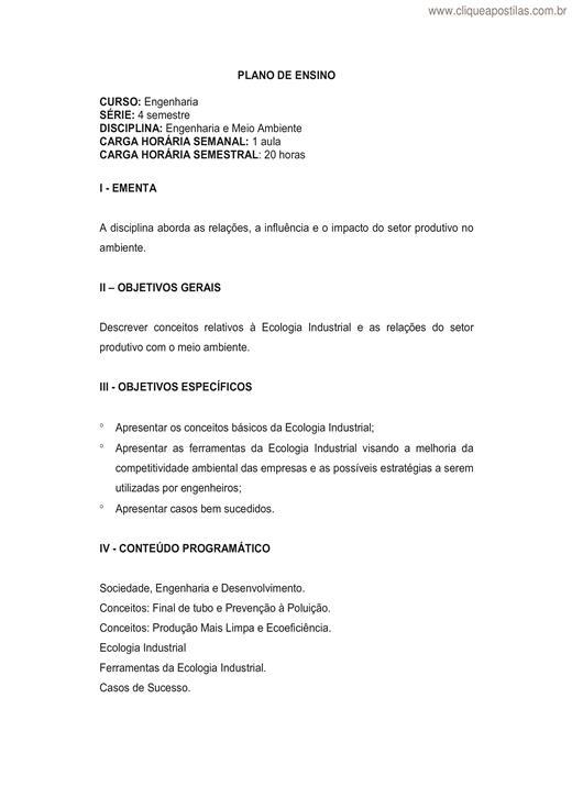 Well-known Clique Apostilas - Apostilas de Meio Ambiente DJ82