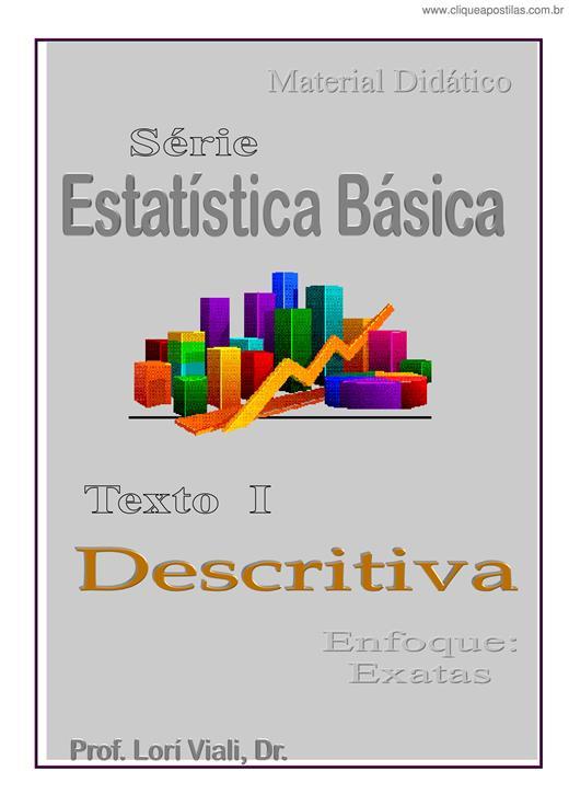 bdafda78f Clique Apostilas - Estatística Básica XI