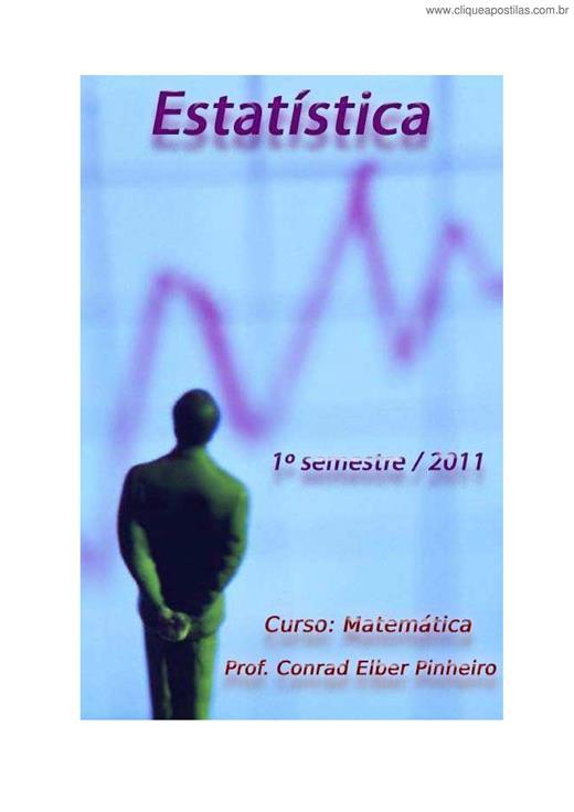 0cc4b65b6 Clique Apostilas - Estatística V