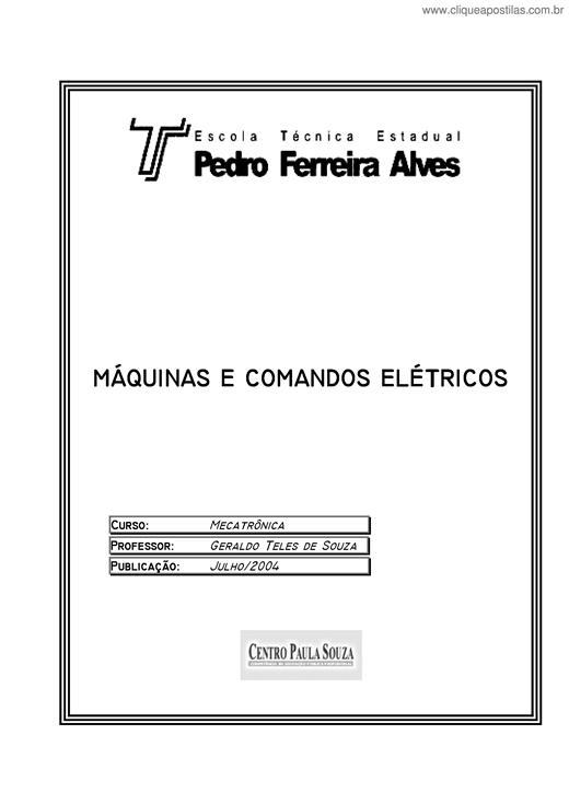 DO COMANDOS BAIXAR APOSTILA DE ELETRICOS SENAI